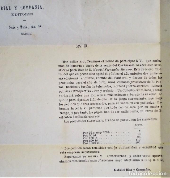 Sellos: FRANCO MADRID 1885 A BILBAO PRECIOSA CON PUBLICIDAD INTERIOR EDITORES LIBRERO LIBRERÍA RARO - Foto 3 - 276148388