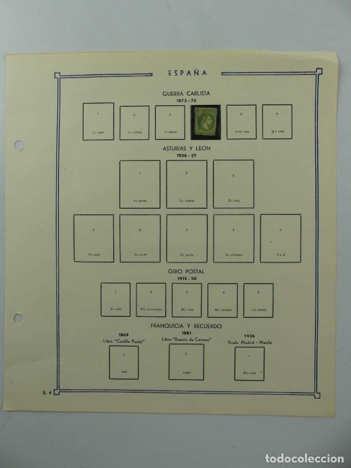 HOJA CON SELLO DE ESPAÑA – GUERRA CARLISTA - AÑO 1873 – 1875 (Sellos - España - Otros Clásicos de 1.850 a 1.885 - Usados)