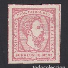 Timbres: ESPAÑA, CORREO CARLISTA, 1874 EDIFIL Nº 157 /**/, CARLOS VII, SIN FIJASELLOS. Lote 286873908