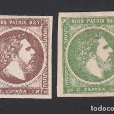 Timbres: ESPAÑA, CORREO CARLISTA, 1875 EDIFIL Nº 160 / 161, CARLOS VII,. Lote 286874253