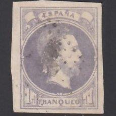 Selos: ESPAÑA, CORREO CARLISTA, 1874 EDIFIL Nº 158, 1 R. VIOLETA.. Lote 286874783