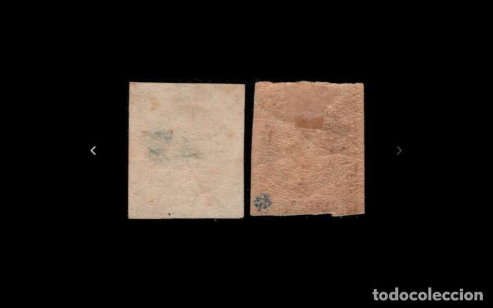 Sellos: ESPAÑA - 1875 - CARLOS VII - EDIFIL 160/161 - MH* - NUEVOS - SERIE COMPLETA. - Foto 2 - 286908393