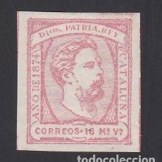 Timbres: ESPAÑA, CORREO CARLISTA, 1874 EDIFIL Nº 157 /*/, 16 MV. ROSA.. Lote 289876168