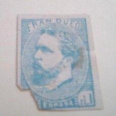 Sellos: ESPAÑA, CORREO CARLISTA, 1873 EDIFIL Nº 156, CARLOS VII SIN LA TILDE DE LA Ñ. Lote 292513088