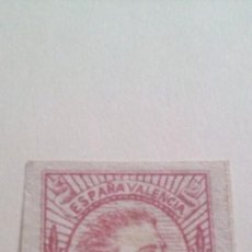 Sellos: ESPAÑA, CORREO CARLISTA, 1874 EDIFIL Nº 159 A, ½ R. ROSA VALENCIA. Lote 292513808