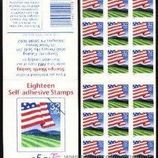 Sellos: USA 1995 CARNET BANDERA SOBRE EL CAMPO. Lote 6533320