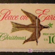 Stamps - ESTADOS UNIDOS 1974 NAVIDAD 1 SELLO ADHESIVO - 7633199