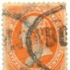 Sellos: ESTADOS SCOTT Nº 152 DEL AÑO 1870 DANIEL WEBSTER, SELLO USADO, PRECIOSO MATASELLOS LUJO. Lote 11758511