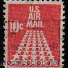 Sellos: USA 1968 SCOTT C72 SELLO AIR MAIL SERIE BASICA ESTRELLAS USADO ESTADOS UNIDOS ETATS UNIS . Lote 9047772