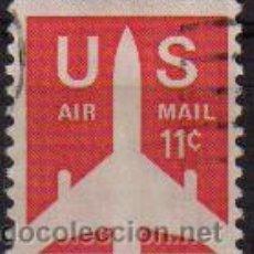 Sellos: USA 1971 SCOTT C78 SELLO AIR MAIL SERIE BASICA AVION. Lote 9048336