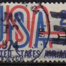 Sellos: USA 1971 SCOTT C81 SELLO AIR MAIL SERIE BASICA AVION. Lote 9048354