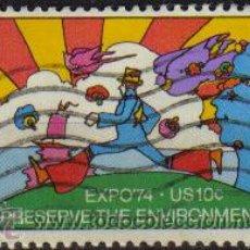 Sellos: USA 1974 SCOTT 1527 SELLO º EXPO'74 CONSERVACIÓN DEL MEDIO AMBIENTE ETATS UNIS ESTADOS UNIDOS . Lote 9048481