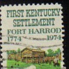 Sellos: USA 1974 SCOTT 1542 SELLO º CARROZAS FORT HARROD KENTUCKY ETATS UNIS ESTADOS UNIDOS . Lote 9048548