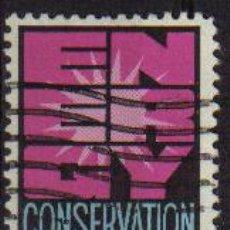 Sellos: USA 1974 SCOTT 1547 SELLO º CONSERVACION DE LA ENERGÍA ETATS UNIS ESTADOS UNIDOS TIMBRE UTILISÉ USAD. Lote 9048557