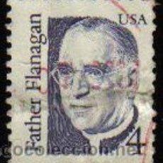 Sellos: USA 1986 SCOTT 2171 SELLO SERIE PERSONAJES E. J. FLANAGAN. Lote 9078671