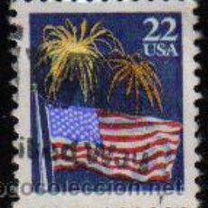 Selos: USA 1987 SCOTT 2276 SELLO º FLAG AND FIREWORKS BANDERA Y FUEGOS ARTIFICIALES US YVERT 1708. Lote 9078708