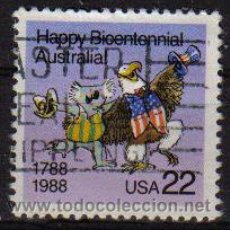 Sellos: USA 1988 SCOTT 2370 SELLO BICENTENARIO AUSTRALIA. Lote 9078813