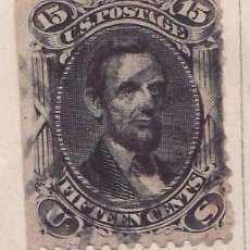 Sellos - ABRAHAN LINCOLN SELLO 1861 ESTADOS UNIDOS CATALOGO A33 filatelia - 26986844