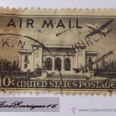 Sellos - AIR MAIL - UNITED STATES POSTAGE - 16035311