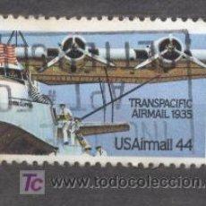 Sellos: ESTADOS UNIDOS, USA, TRANSPACIFIC, USADO. Lote 20019746