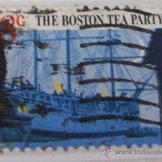 Sellos: THE BOSTON TEA PARTY - BICENTENNIAL BRA. Lote 21034600