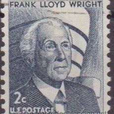 Sellos: USA 1965 SCOTT 1280 SELLO PERSONAJES FRANK LLOYD WRIGHT USADO ESTADOS UNIDOS ETATS UNIS . Lote 9047648