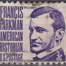 Sellos: USA 1965 SCOTT 1281 SELLO PERSONAJES FRANCIS PARKMAN HISTORIADOR USADO ESTADOS UNIDOS ETATS UNIS . Lote 9047660