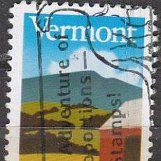 Sellos: ESTADOS UNIDOS (25-33), 2º CENTENARIO DE VERMONT, USADO. Lote 149813741