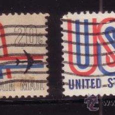 Sellos: ESTADOS UNIDOS AEREO 71/72 - AÑO 1968 - SERVICIO AEREO. Lote 32752988