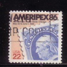 Sellos: ESTADOS UNIDOS 1587 - AÑO 1985 - EXPOSICIÓN FILATÉLICA INTERNACIONAL AMERIPEX 86 - CHICAGO. Lote 34466224