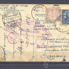 Sellos: 1928.- BROOKLYN A ALEMANIA. Lote 35323678