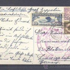 Sellos: 1929.- LOS ANGELES A ALEMANIA. Lote 35323848