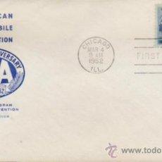 Sellos: SOBRE PRIMER DÍA.AMERICAN AUTOMOBILE ASSOCIATION. MATASELLO CHICAGO 4 MAR. 1952.. Lote 35397776