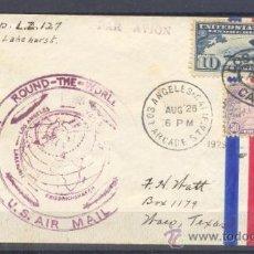 Sellos: 1929.- LOS ANGELES A TEXAS. (USA). Lote 35398446