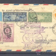 Sellos: 1938. NUEVA YORK A ALEMANIA. Lote 35398811