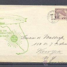 Sellos: 1930.- SAINT PETERSBURG A NUEVA YORK. Lote 35406617