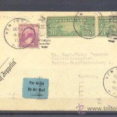 Sellos: 1936.- NUEVA YORK A BERLIN. Lote 35408745