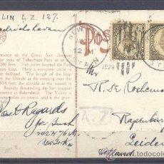 Sellos: 1929.- NUEVA YORK A SUECIA. Lote 35444357