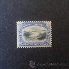 Sellos: USA,ESTADOS UNIDOS,1901,SCOTT 297*,EXP.PANAMERICANA,NUEVO CON GOMA Y SEÑAL FIJASELLOS. Lote 37476396