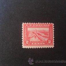 Sellos: USA,ESTADOS UNIDOS,1913,SCOTT 398**,EXP.PANAMA PACIFICO,NUEVO CON GOMA Y SIN SEÑAL FIJASELLOS. Lote 37621013