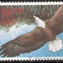 Sellos: USA 1991 $14.00 EAGLE EXPRESS MAIL SC 2542, MI 2168, SG 2610, YV 1982. Lote 37752913