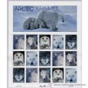 Sellos: USA 1999 ARTIC ANIMALS PANE OF 20 SC 3288-92SP, MI SH3094-98, SG MS3572-76, YV BF2858-62 . Lote 37770781