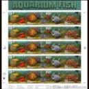 Sellos: USA 1999 AQUARIUM PANE OF 20 SC 3317-20SP, MI SH3140-43, SG MS3623-26, YV BF2908-11. Lote 37770973