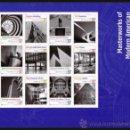 Sellos: ESTADOS UNIDOS 2005 MODERN AMERICAN ARCHITECTURE PANEL DE 12 SC 3910SPYV BF3649-60. Lote 37788972