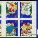 Sellos: USA 2005 CHIRSTMAS HLIDAY COOKIES BOOKLET SC C3957-60A, MI C4005-08, SG C4495-98 , YV C3724-27. Lote 37789509