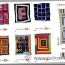 Sellos: USA 2006 GEE´S BEND QUILTS BOOKLET OF 20 SC 4089-98SP, MI B4161-70, SG MS4650-59, YV C3866-75. Lote 37808872