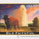 Sellos: USA 2009 OLD FAITHFUL $17.50 PRIORITY MAIL SC 4379, MI 4473, SG 4930, YV 4140. Lote 37841302