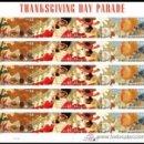 Sellos: USA 2009 THANKSGIVING DAY PARADE PANE OF 20 SC 4417-20SP, MI B4545-48, SG MS4999B-E, YV BF4208-11. Lote 37842320
