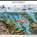 Sellos: USA 2009 KELP FOREST PANE OF 10 SC 4423SP, MI B4554-63, SG MS5001, YV BF4217-26. Lote 47960914
