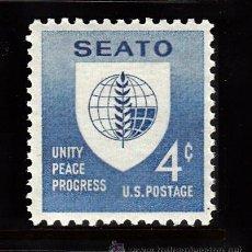 Sellos: ESTADOS UNIDOS 685** - AÑO 1960 - 5º ANIVERSARIO DEL PACTO DE MANILA - SEATO. Lote 38499123
